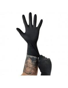 Unigloves® - LATEX extra long, Black 100 Pcs.