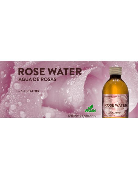 Aloe Tattoo Rosen Water (250ml)