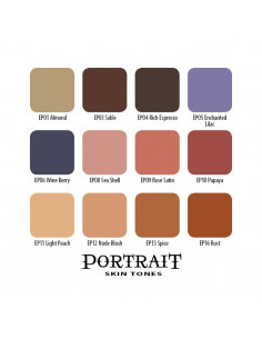 Eternal - Ink - Portrait Skin Tones Set - 12