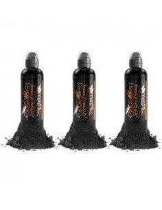 World Famous Charcoal Greywash Set 120ml
