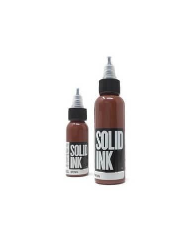 Solid Ink - Brown