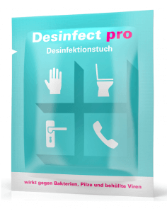 Desinfect pro - disinfectant wipe (10 pieces)