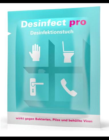 Desinfect pro lingette désinfectante (10 pièces)