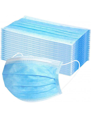 Hygiene mask 3-layer type 1 (50 pcs)