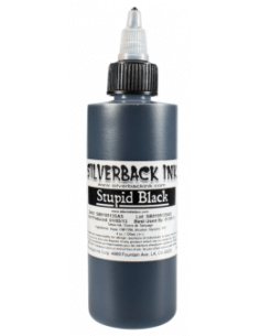 Silverback INK - Stupid Black 120ml