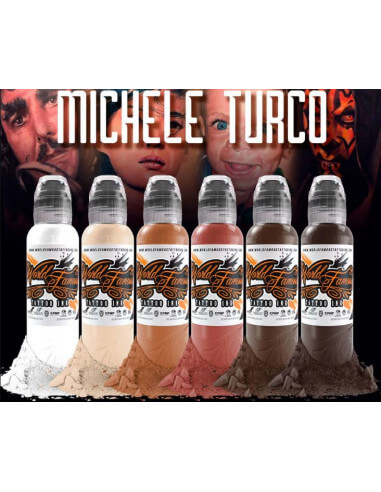 World Famous - Michele Turco 6 x 30ml Set