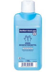 Sterillium classic pure hand disinfectant (500ml)