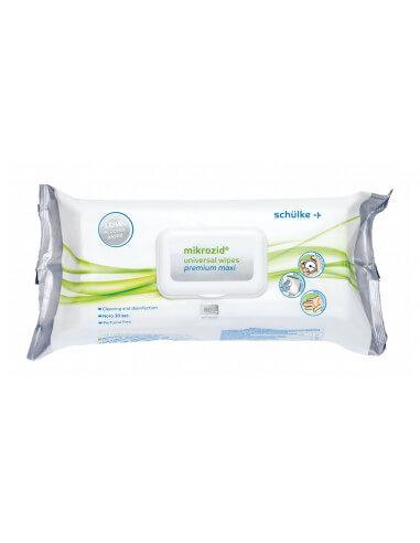 Schülke mikrozid universal wipes premium maxi (80 pieces)