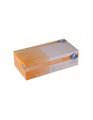 Unigloves - LATEX Gloves, Safetec 100 Pcs.