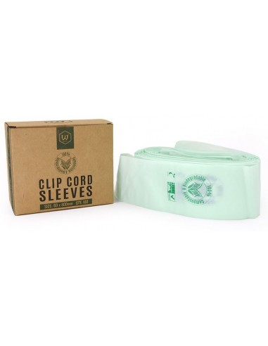 Biodegradable Clip Cord Sleeves (100Pcs)