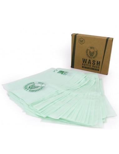 Biodegradable Wash Bottle Bags (100Pcs)