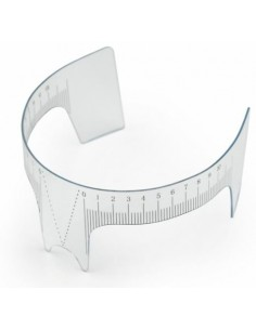 Eyebrow distance ruler B
