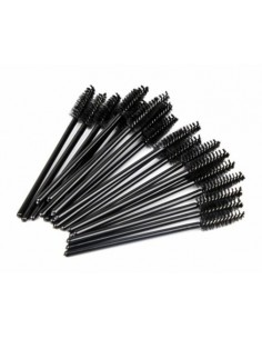 Buy Disposable Eyelash Brushes / Mascara Brushes Black (50pcs)