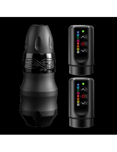 FK-Irons EXO Black Ops 4.0mm avec 1 RCA Bolt & 2 PowerBolts