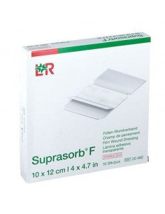 SUPRASORB F film bandage sheet 10cm x 12cm (10Pcs)